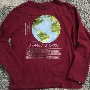 Gap Flip Sequin T shirt
